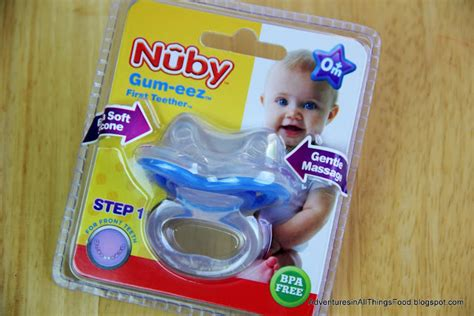baby teething chew adventures in all things food nuby s gum eez