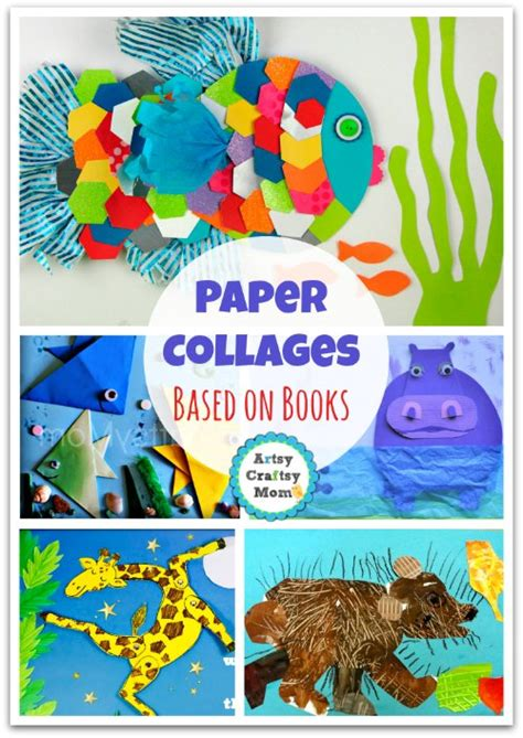 Make Paper Collages - 70 paper collage ideas that will