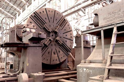 Ship Lath Lathe Used For Turning Large Ship Parts