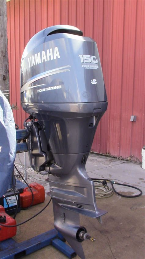 used boat motors outboard used 2005 yamaha f150txrd 150hp 4 stroke outboard boat