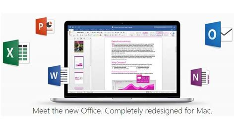 Current Office Version Microsoft Office 2016 Arrives For Mac Users The Indian