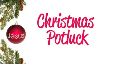 christmas potluck images images
