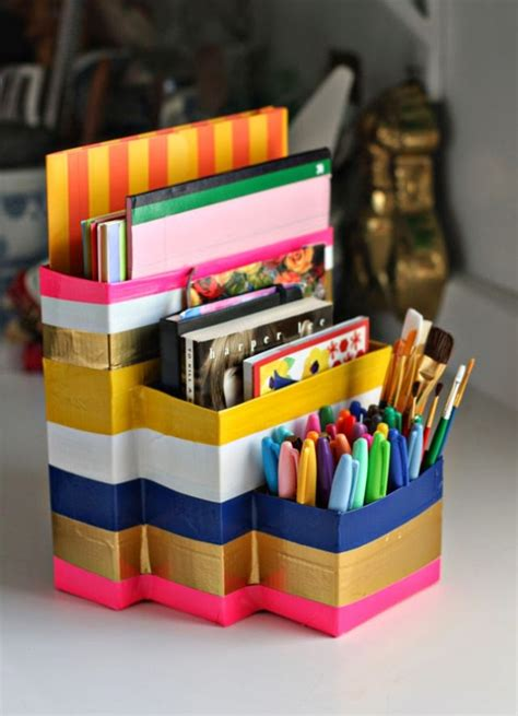 Diy Desk Organizers 15 Easy Diy Ideas How To Organize And Personalize Your Office Top Inspirations