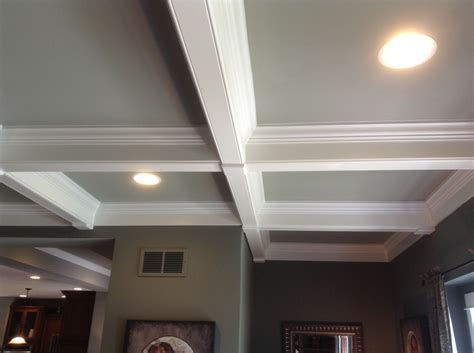Prefab Coffered Ceiling Coffered Ceilings Are So The Horizon