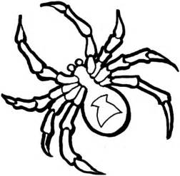 Black Widow Spider Coloring Page black widow coloring pages coloring pages