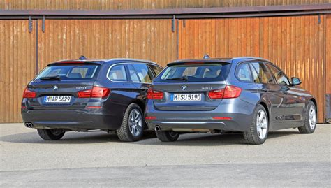 Bmw 3er Touring Vs X3 by Bmw Touring Comparo 3 Series Vs 5 Series Which Is Best