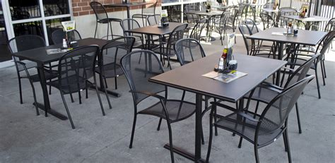 Restaurant Patio Tables Commercial Outdoor Dining Furniture Outdoor Restaurant Furniture For Patios Sidewalk Seating