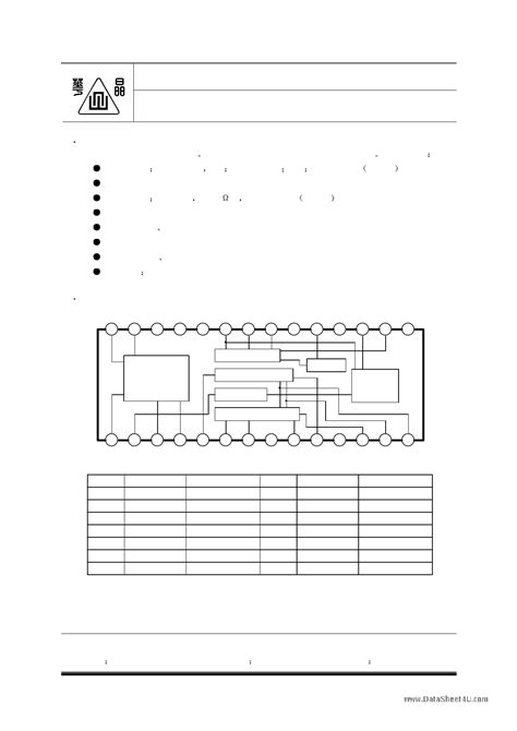 datasheet cd1691cb monolithic fm am radio circuit page pdf