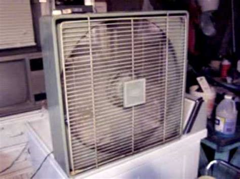 Amc Live Without Cable Fans Vintage Amc Metal Box Fan Model 10 2t 4 Serial Q