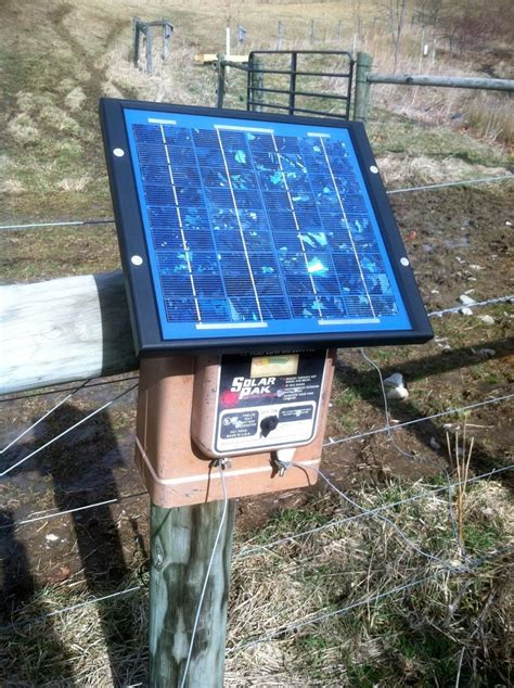 solar fence chargers how we live with the river on our cattle farm getting
