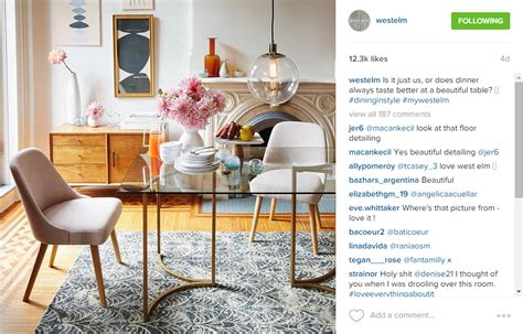 home design instagram home decor store west elm founded in brooklyn westelm hdb interior design instagram
