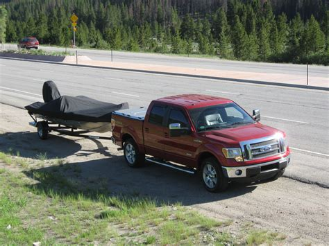boat bed covers f 150 with diamond plate bed cover pulls boat trailer flickr