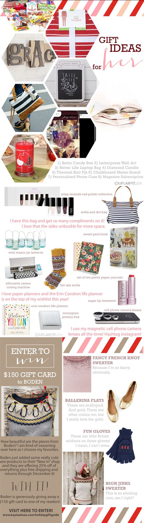 Gift Card Ideas For Women - favorite gift ideas for women a 150 boden gift card giveaway