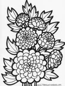 flower coloring pages free flowers coloring pages free large images