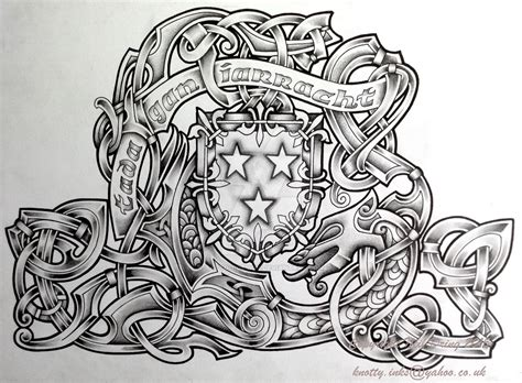 crest and beast by tattoo design on deviantart
