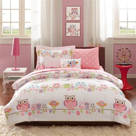 pink white purple girls room taylor s new room owl bedding for girls bedrooms reviews cool ideas for home