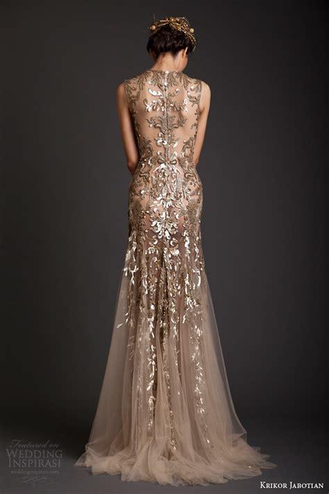 Embellished Wedding Gown krikor jabotian 2014 dresses akhtamar couture