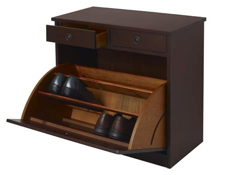 shoe storage chest 3 drawer shoe cupboards cabinet hallway tidy footwear
