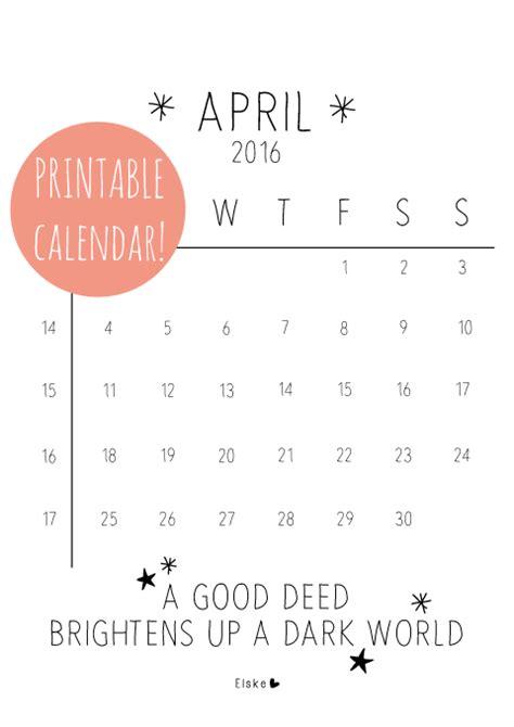 Kalender 2016 Kalenderpedia Kalenderpedia April 2016 Ausdrucken Kostenlos Calendar
