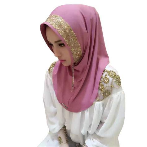 Pearl Scarf printed cosy muslim pearl scarf islamic shawl headscarf ebay