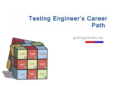 Career Path Software Engineer After Mba by Tester Career Path