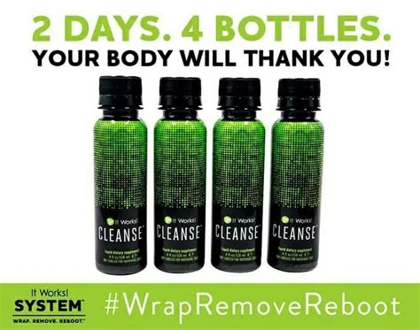 2 Bottles Of Wine A Day Detox by The It Works Cleanse Brought The Boom To The It Works