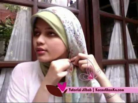 tutorial jilbab vidio cara pakai jilbab modern tutorial kreasi jilbab youtube