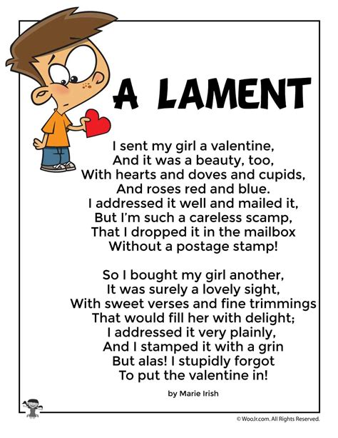 halloween party by kenn nesbitt the poetry foundation a lament funny valentine s day kids poem woo jr kids