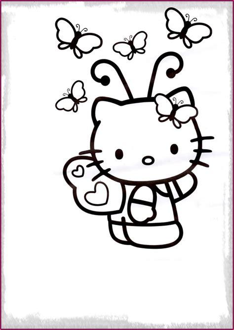 imagenes de kitty para imprimir a color dibujo kitty para colorear e imprimir para entretenerte