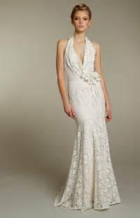 wedding dress halter blush wedding dresses