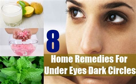 8 circles home remedies treatment