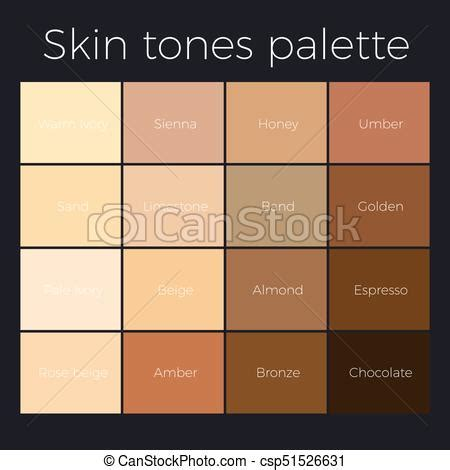 vector skin tone tutorial skin tone chart art skin tones tutorial skin tone skin