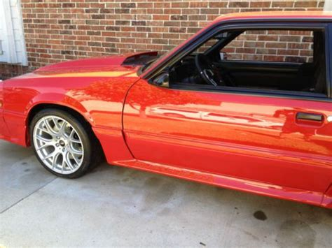 Porsche Gtrs For Sale by Purchase Used 91 Ford Mustang Show Restomod Leave Corvette