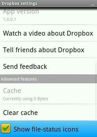 dropbox turn on document in setting dropbox android app review make tech easier
