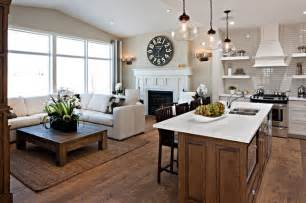 Kitchen Great Room Design The Hawthorne Kitchen Great Room Traditional Kitchen Calgary By Cardel Designs