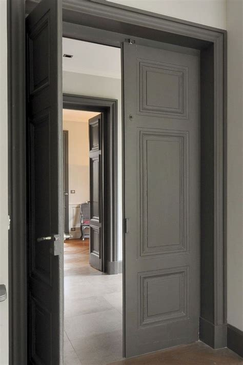 Gray Interior Doors 25 Best Ideas About Grey Trim On Trim Wall Color Combination And