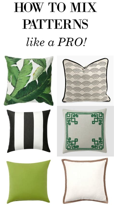 rules for mixing patterns in decorating 122 best images about throw pillows on pinterest chevron