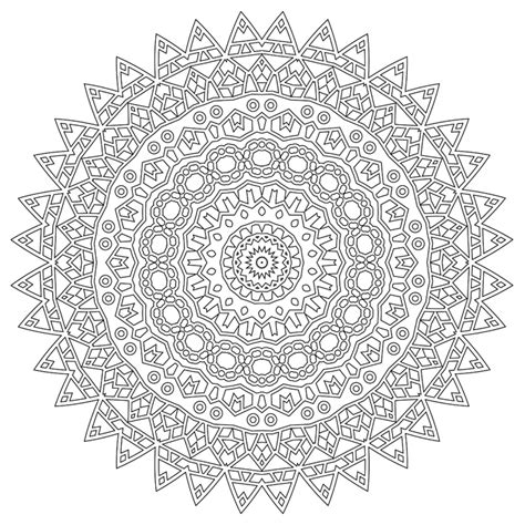 Awesome Mandalas Ii Coloring Strikes Back Vol 2 Enemyone The Awesome Mandala Coloring Pages