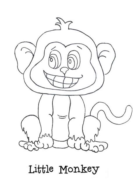 little monkey coloring pages 5 little monkeys coloring pages