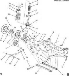 Brake Line Diagram For 2002 Pontiac Grand Am 2000 Pontiac Grand Am Suspension Rear