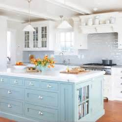Blue Kitchen Island Kitchens With Color Diy