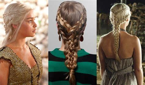 hairstyles khaleesi how to do khaleesi game of thrones hair fshn magazine
