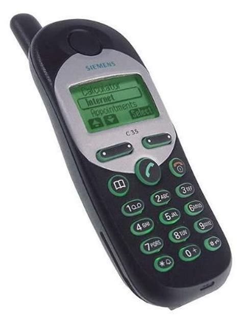 siemens mobile siemens c35 my third mobile phone memories