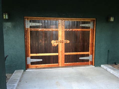 barn style garage door rollup faux barn style garage door by rj2 lumberjocks