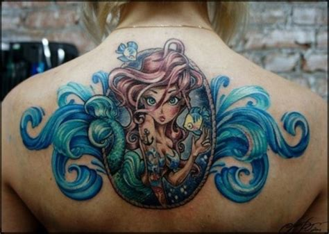 the little mermaid tattoos mermaid design of tattoosdesign of tattoos