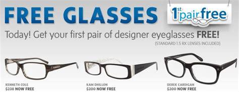 free pair of designer eyeglasses w lenses from coastal