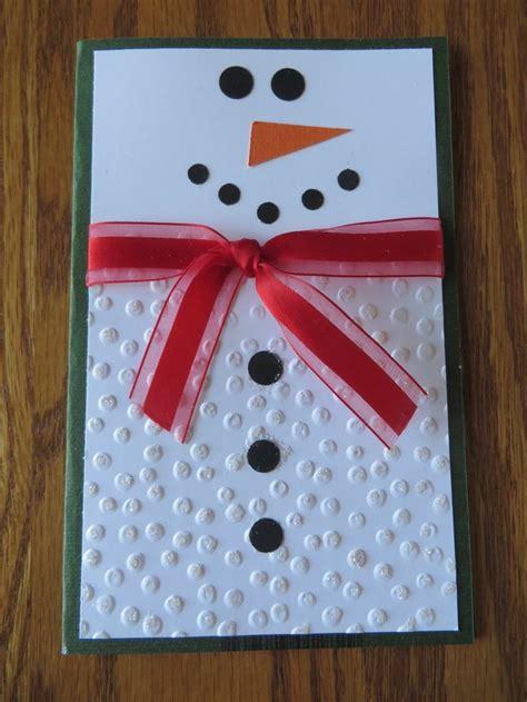 Christmas Gift Card Ideas - best 25 snowman cards ideas on pinterest xmas cards handmade xmas cards and