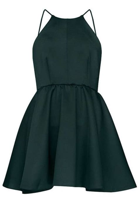 Muchef Apron Mini Black Forest av fitted office dress green