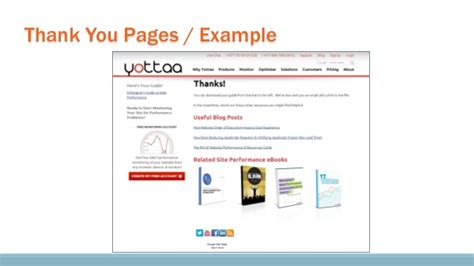 thank you page template why businesses should opt for web analytics i
