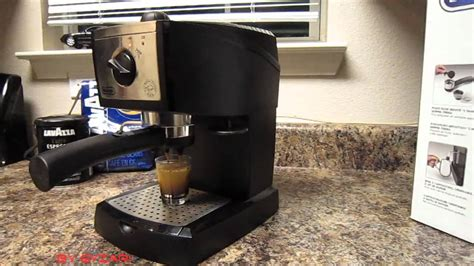 delonghi ec155 espresso maker how to make espresso coffee